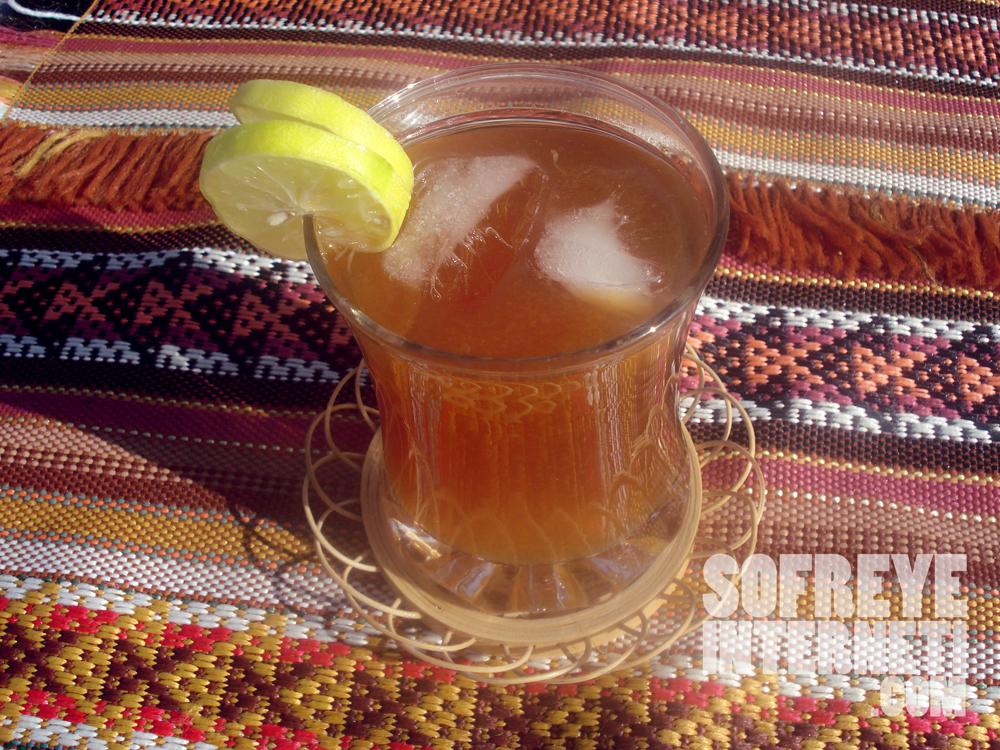 *چای سرد توی این هوای گرم