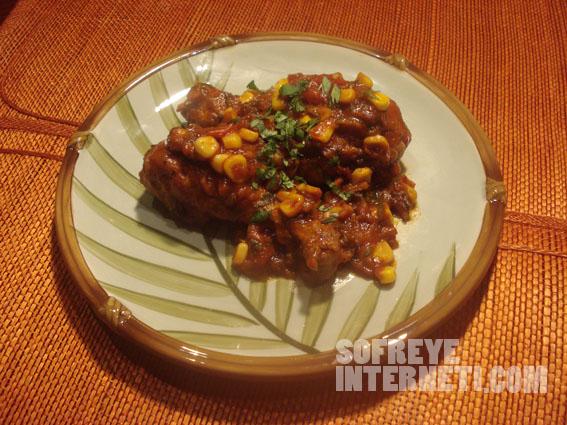 مرغ مکزیکی برای عرض معذرت