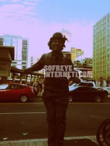 مجسمه زنده در تورنتو ؛ LiveStatue