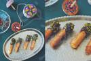 شیرینی فرفره های رنگی و یویو